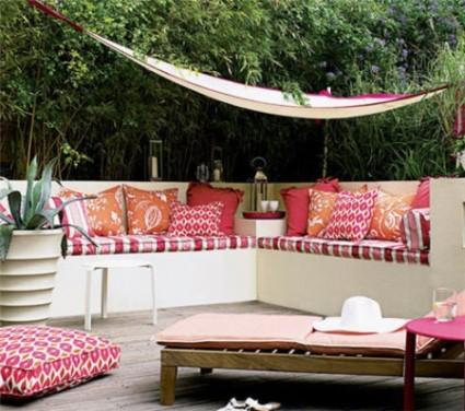 Stil exotic - terasa casei tale