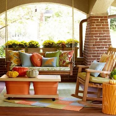 Cum pregatim terasa pentru toamna