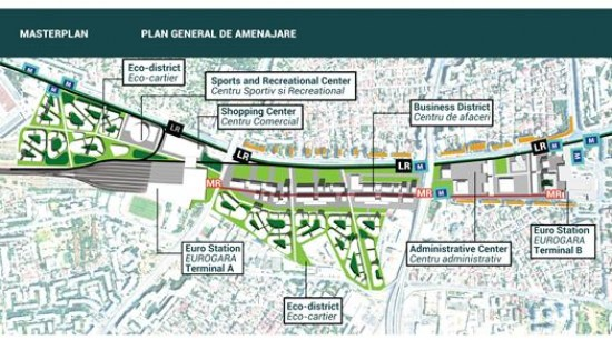 Gara de nord, un proiect urbanistic indraznet