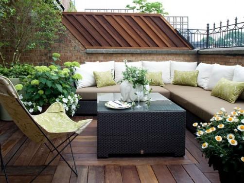 Sigur vei iubi terasa de pe acoperis!