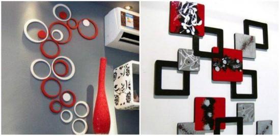 Decoratiuni asimetrice pentru camera copiilor