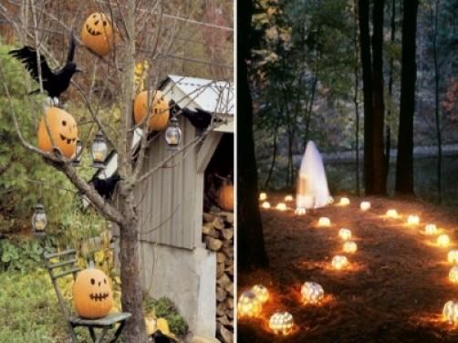 Halloween in gradina ta! amenajari-gradini