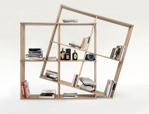 Alege o biblioteca cu un design modern