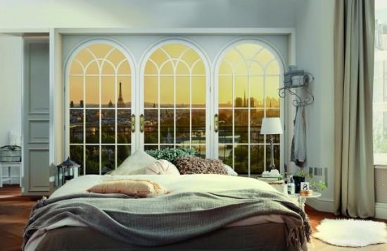 Stilul parizian si mult romantism amenajari-dormitoare