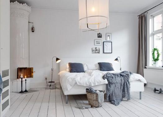 Dormitorul scandinav