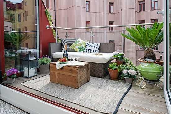 Amenajarea terasei  - spatiu pentru meditatie si relaxare