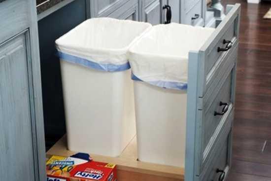 Depozitari eficiente in bucatarie