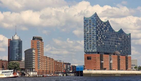 Filarmonica din Hamburg – minunea arhitecturala vizitata printr-un tur virtual