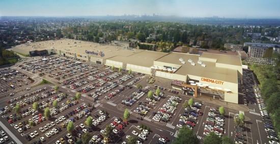 S-au investit 30 milioane de euro in extinderea mall-ului Shopping City Galati