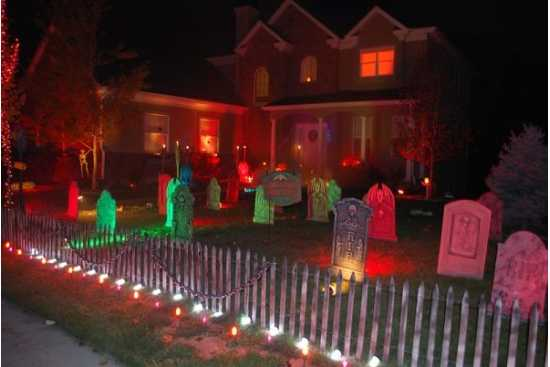 Un Halloween haios in noua locuinta