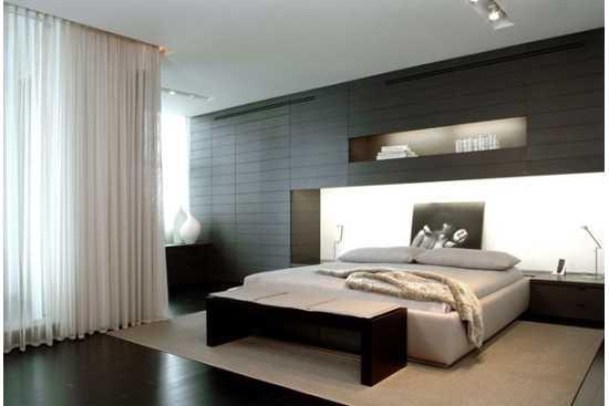 Culori inchise pentru efecte misterioase in dormitor