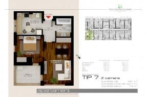 Apartament 2 camere, Grozavesti