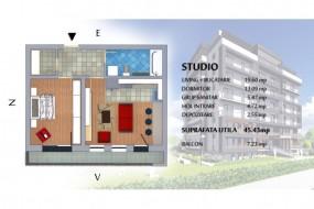 Apartament 2 camere, Brasov