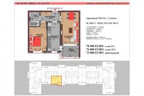 Apartament 2 camere, Dristor