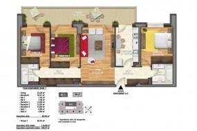 Apartament 4 camere, Unirii
