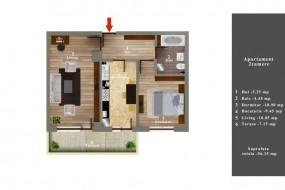 Apartament 2 camere, Rahova