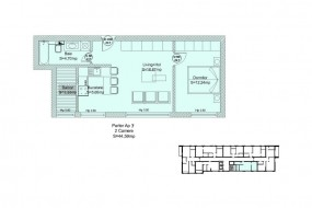 Apartament 2 camere, Brancoveanu