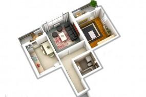 Apartament 2 camere, Sibiu