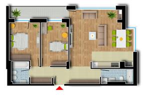 Apartament 3 camere, Oradea