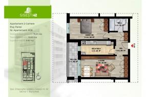 Apartament 2 camere, Baneasa