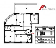Apartament 3 camere, Mihai Bravu