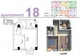 Apartament 2 camere, Pitesti