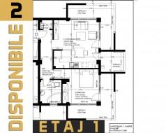 Apartament 2 camere, Chiajna