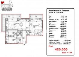Vanzare Apartamente 4 camere