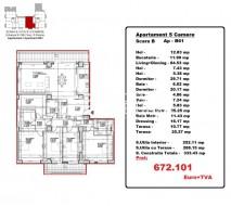 Apartamente 5+ camere de vanzare