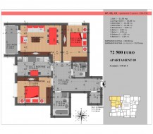 Apartament 3 camere, Titan