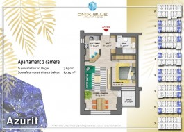 Apartament 2 camere, Mamaia
