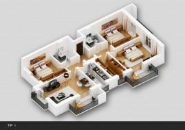 Apartament 4 camere, Titan