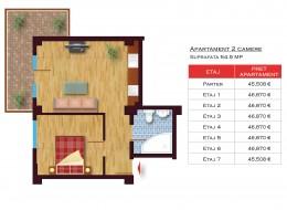 Apartament 2 camere, Militari
