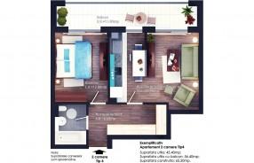 Apartament 2 camere, Berceni