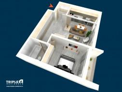 Apartament 2 camere, Drumul Taberei