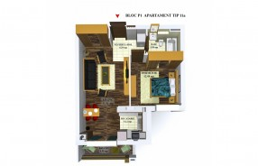 Apartament 2 camere, Stefanestii De Jos