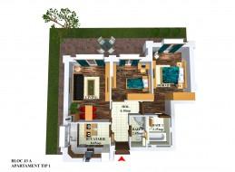 Apartament 3 camere, Stefanestii De Jos