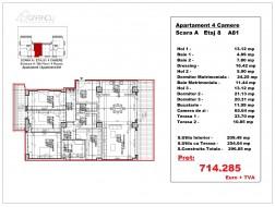 Apartament 4 camere, Herastrau
