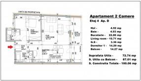 Apartament 2 camere, Mihai Eminescu