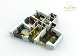 Apartament 4 camere, Baneasa