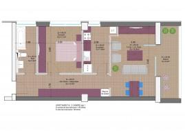 Apartament 2 camere, Muncii