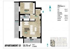 Apartament 2 camere, Cluj Napoca
