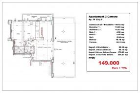 Apartament 3 camere, Bucur Obor