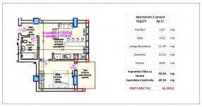 Apartament 2 camere, Traian