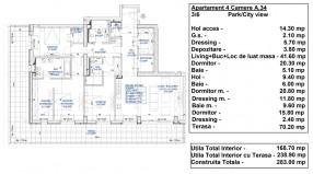 Apartament 4 camere, Floreasca
