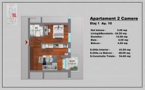 Apartament 2 camere, Stefan cel Mare