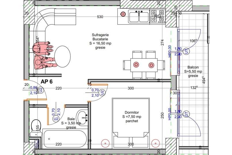 Apartamente 2 camere, 34 mp, Vacaresti Delta View Residence