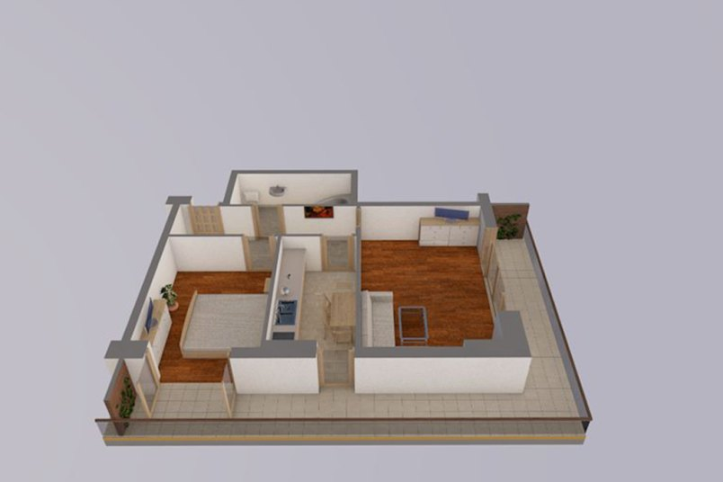 Apartamente 2 camere, 60 mp, Vacaresti Delta View Residence