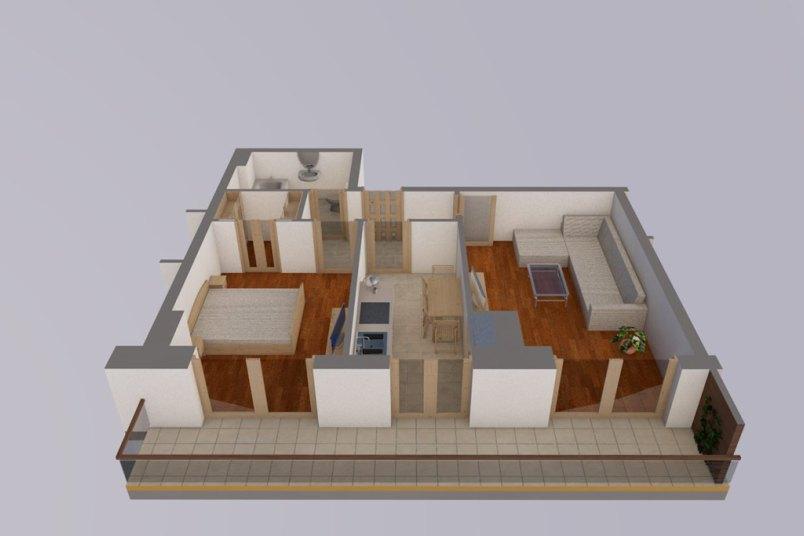 Apartamente 2 camere, 52 mp, Vacaresti Delta View Residence