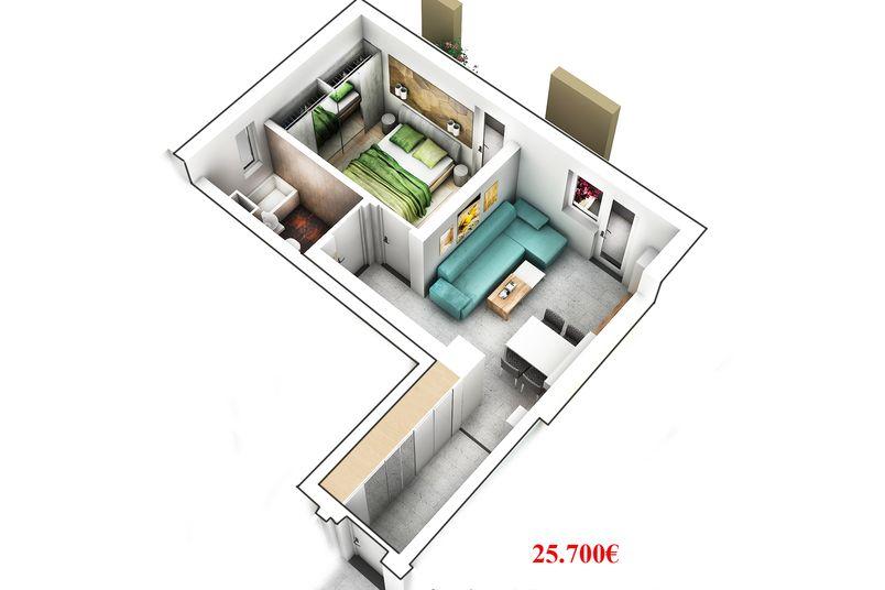 Apartamente 2 camere, 37 mp, Ansamblul Rezidential EBS REI